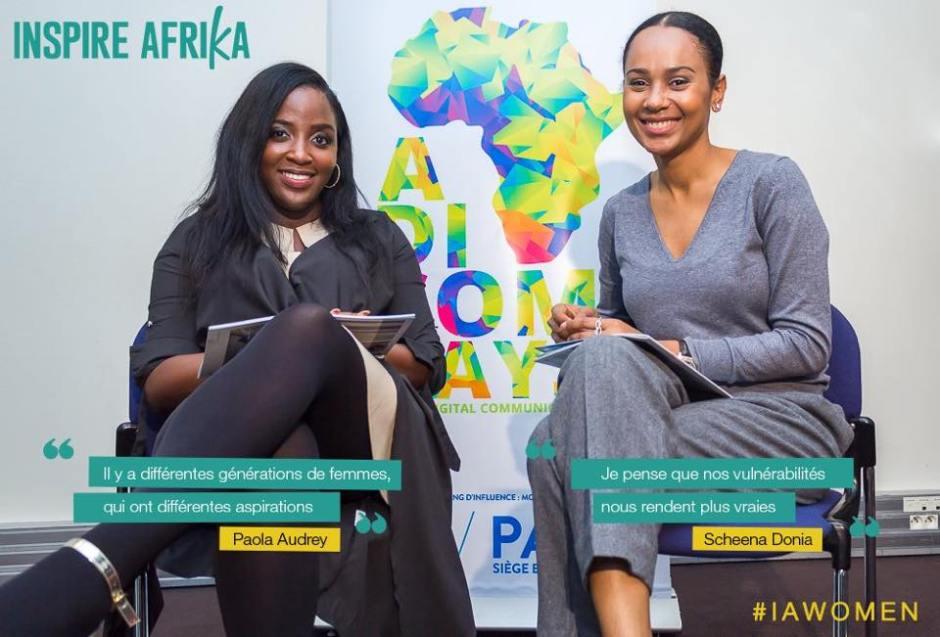 IAWOMEN Paola Audrey et Scheena Donia pour Inspire Afrika