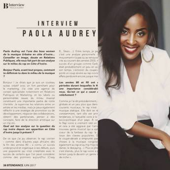 interview Btendance Paola Audrey
