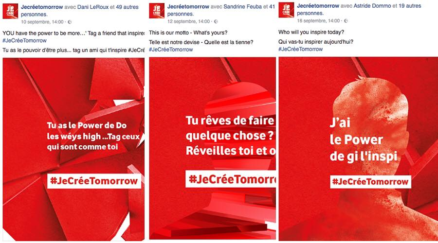 Je cree tomorrow Vodafone