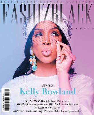 Kelly Rowland Cover Fashizblack