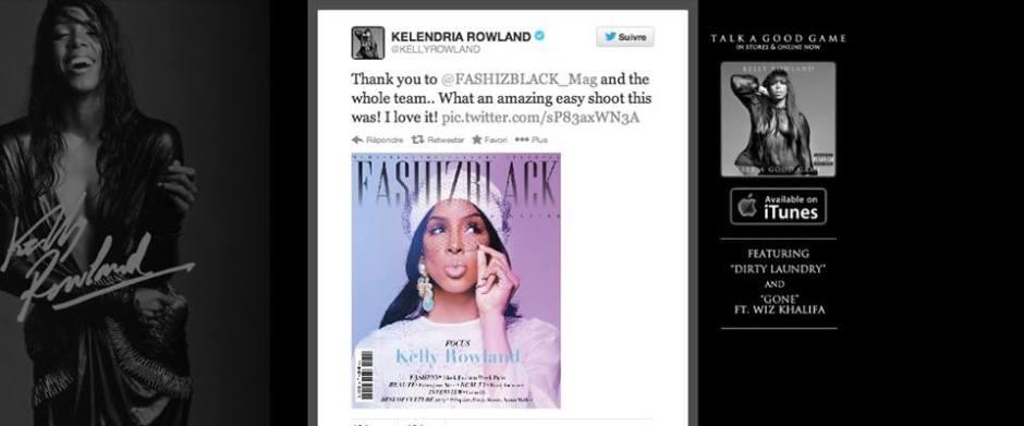 Kelly Rowland Fashizblack