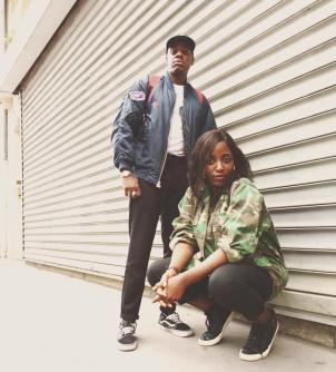 Paola Audrey et Waldy du collectif hip-hop Nice to Meet You.jpg
